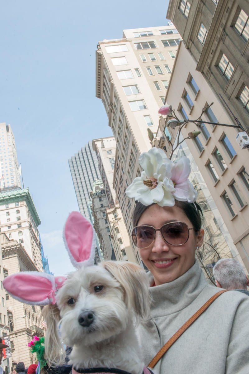 Easter Parade on Fifth Avenue