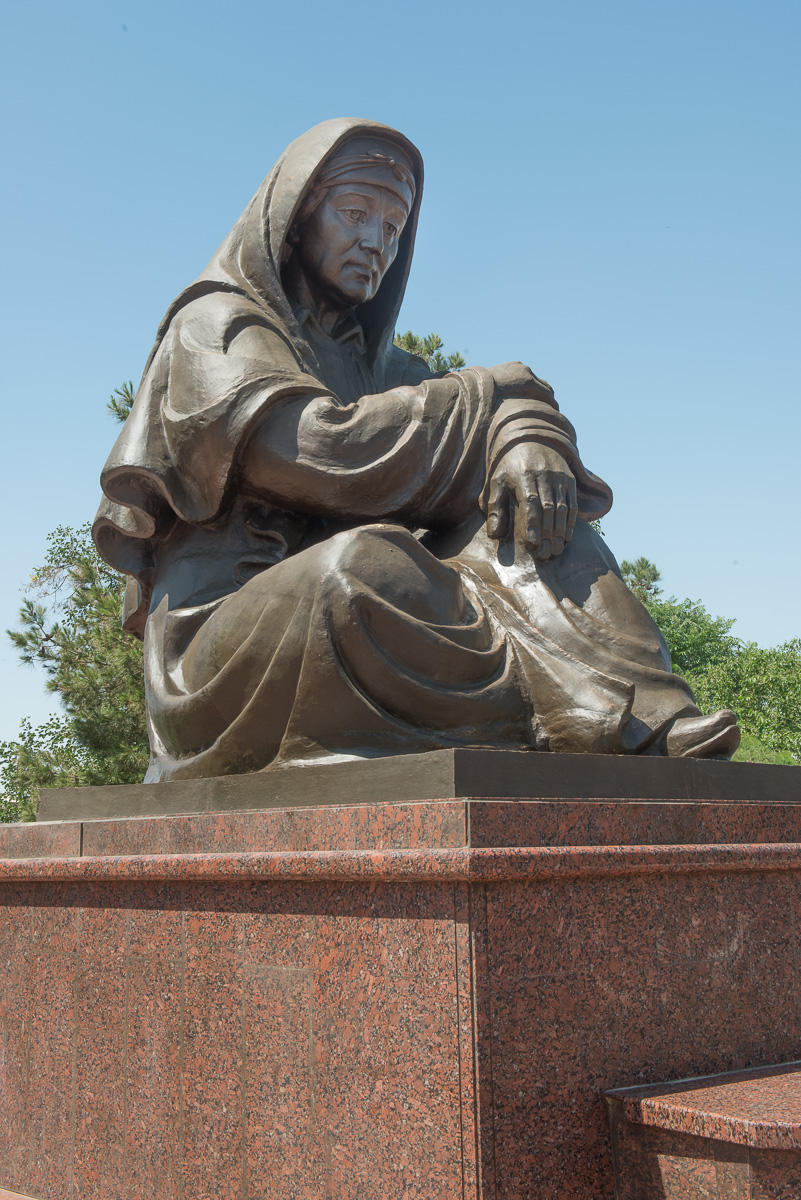 World War 11, Memory of Tears.  Samarkand, Uzbekistan