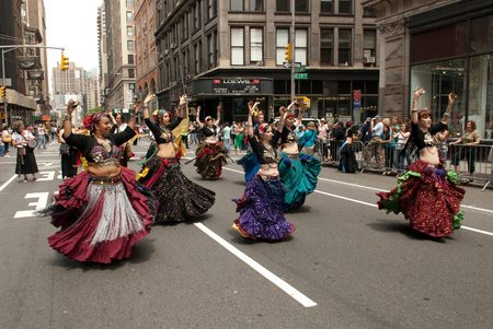 Belly Dancers on Broadway New York City