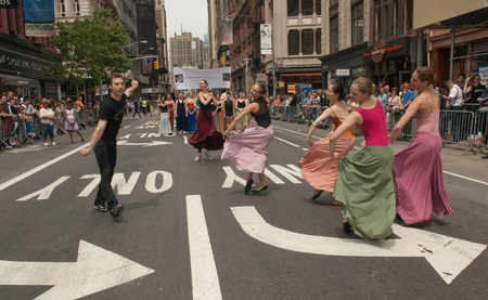 Modern Dance on Broadway