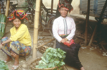 Vietnam. Selling vegetables