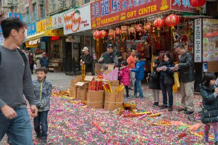 Chinese New Years in Chinatown