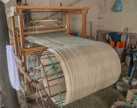 Spinning the wool