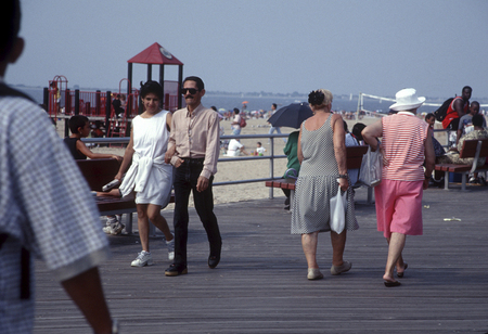 Walking on the Boardwalk