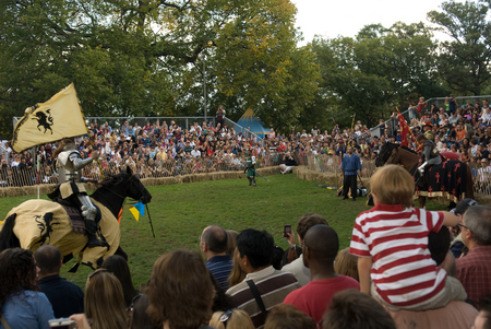 Medieval Festival in Ft. Tryon Park