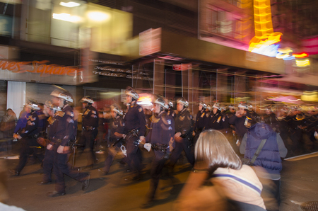 NYPD Riot Squad