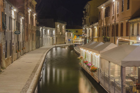 Comacchio at night