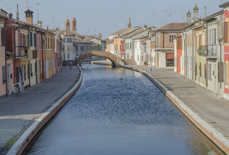Comacchio, Italy