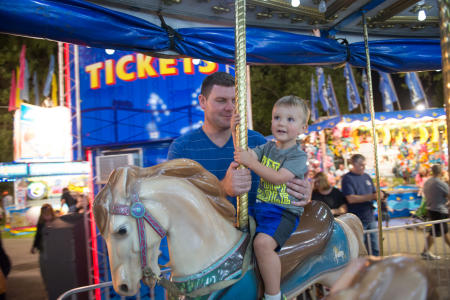 Merry-go-Round, Dutchess County Fair