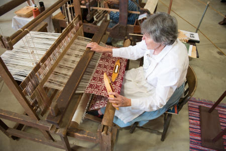 Crafts, Weaving Loom, Dutchess County Fair