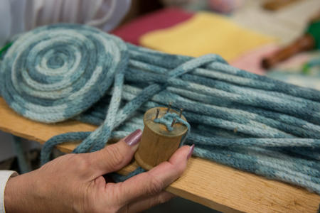Crafts, Twisted wool, 