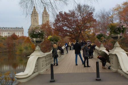 Central Park, Bow Bridge