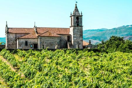 wine estate, Douro Valley,small chaple