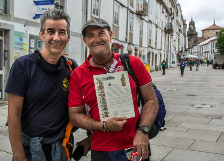 Pilgrims with Certificate
