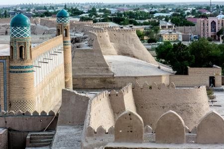 Old wall in Khiva