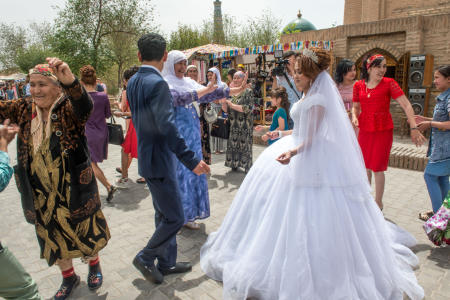 wedding in Khiva